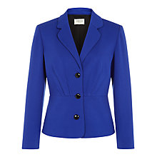 Buy Precis Petite Fitted Jacket, Cobalt Online at johnlewis.com
