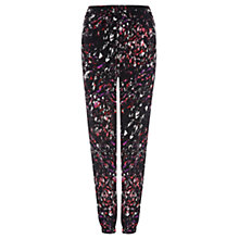 Buy Warehouse Scratchy Texture Print Trousers, Multi Online at johnlewis.com