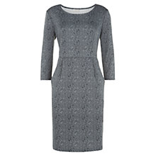 Buy Kaliko Lace Print Shift Dress, Grey Online at johnlewis.com
