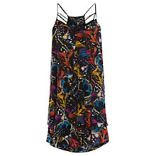 Buy Warehouse Butterfly Cami Dress, Multi Online at johnlewis.com