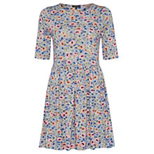 Buy Warehouse Ditsy Floral Print Day Dress, Multi Online at johnlewis.com