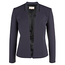 Buy Planet Jacquard Jacket, Blue/Black Online at johnlewis.com