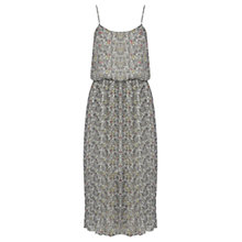 Buy Warehouse Swirl Print Midi Dress, Multi Online at johnlewis.com