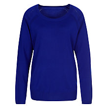 Buy Planet Ribbed Wool Jumper, Cobalt Online at johnlewis.com
