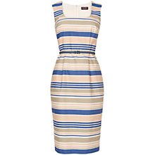 Buy Phase Eight Stripe Dress, Denim/Pale Pink Online at johnlewis.com