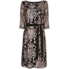 Buy Phase Eight Sofia Embellished Dress, Black/Silver Online at johnlewis.com