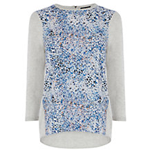 Buy Warehouse Print Front Jumper, Multi Online at johnlewis.com
