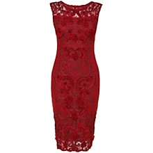 Buy Phase Eight Carmen Tapework Dress, Ruby Online at johnlewis.com