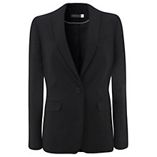 Buy Mint Velvet Lux Tux Jacket, Black Online at johnlewis.com