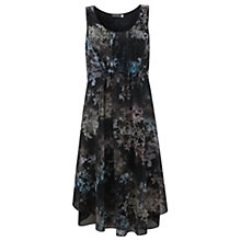 Buy Mint Velvet Ami Print Dress, Black Online at johnlewis.com