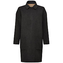 Buy Jaeger Double Face Reversible Coat, Grey / Camel Online at johnlewis.com