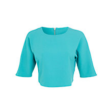 Buy Miss Selfridge Long Sleeve Crepe Top Online at johnlewis.com
