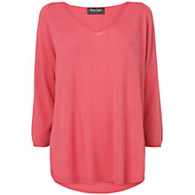 Buy Phase Eight Vivian V-Neck Jumper, Mulberry Online at johnlewis.com