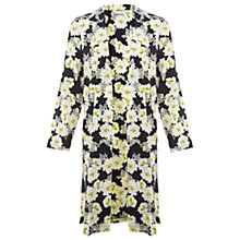 Buy Miss Selfridge Floral Print Kimono, Yellow/Multi Online at johnlewis.com