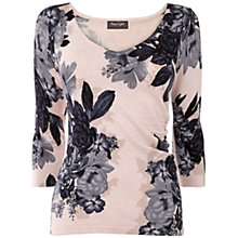 Buy Phase Eight Horley Rose Print Jumper, Pink Online at johnlewis.com