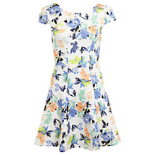 Buy Miss Selfridge Floral Fit and Flare Dress, Multi Online at johnlewis.com