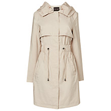 Buy Phase Eight Isobel Parka Coat, Pebble Online at johnlewis.com
