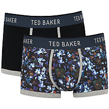 Buy Ted Baker Clifden Floral Boxer, Pack of 2, Navy Online at johnlewis.com