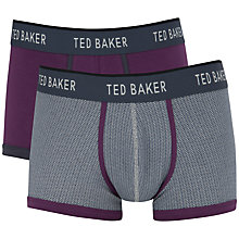 Buy Ted Baker Parkham Print Boxers, Pack of 2 Online at johnlewis.com