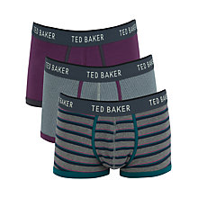 Buy Ted Baker Longton Boxers, Pack of 3, Multi Online at johnlewis.com