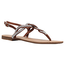 Buy Miss KG Danni Flat Sandals, Tan Online at johnlewis.com