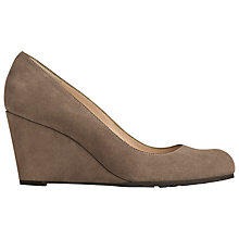 Buy L.K. Bennett Bayleen Suede Wedge Court Shoes Online at johnlewis.com