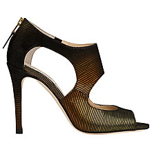 Buy L.K. Bennett Alma High Stiletto Heel Leather Sandals, Bronze Online at johnlewis.com