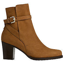 Buy L.K. Bennett Aleena Leather Ankle Boot Online at johnlewis.com