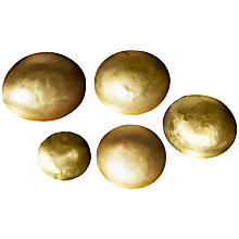 Buy Tom Dixon Form Brass Bowls, Set of 5 Online at johnlewis.com