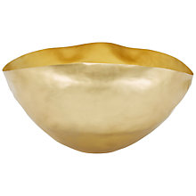 Buy Tom Dixon Bash Vessel, Gold Online at johnlewis.com