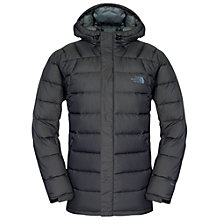 Buy The North Face Argentum Hooded Jacket, Black Online at johnlewis.com