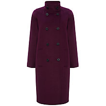 Buy Jaeger Wool Cashmere Funnel Coat Online at johnlewis.com