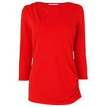 Buy L.K. Bennett Pom Structured Jersey Top Online at johnlewis.com