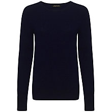 Buy Jaeger Cashmere Crew Neck Sweater, Navy Online at johnlewis.com
