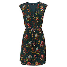 Buy Oasis The Polly Dress, Multi Green Online at johnlewis.com