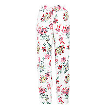 Buy John Lewis Vintage Floral Pyjama Pants, Ivory Multi Online at johnlewis.com
