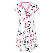 Buy John Lewis Vintage Floral Nightdress, Ivory Multi Online at johnlewis.com
