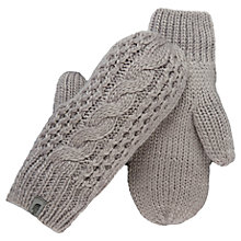 Buy The North Face Cable Knit Mittens Online at johnlewis.com
