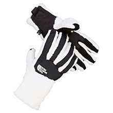 Buy The North Face Denali Women's Thermal Gloves, White/Black Online at johnlewis.com