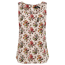 Buy Oasis Polly Vest, Light Neutral Online at johnlewis.com