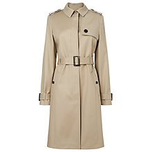 Buy L.K. Bennett Eton Showerproof Trench Coat, Beige Online at johnlewis.com