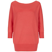 Buy Hobbs Sammy Jumper, Hibiscus Pink Online at johnlewis.com
