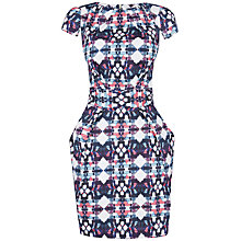 Buy Closet Tribal Print Tie Back Dress, Multi Online at johnlewis.com