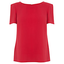 Buy Oasis Formal T-Shirt, Mid Pink Online at johnlewis.com