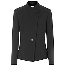Buy Reiss Pinot Fishtail Jacket, Black Online at johnlewis.com