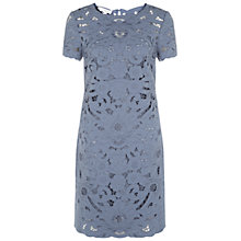 Buy Hobbs Madeira Dress, Delphinium Blue Online at johnlewis.com