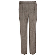 Buy Viyella Herringbone Trousers, Mink Online at johnlewis.com