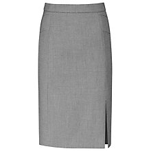 Buy Reiss Indira Formal Pencil Skirt, Grey Online at johnlewis.com