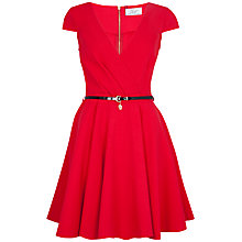 Buy Closet Wrap Dress, Red Online at johnlewis.com