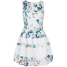 Buy Almari Contrast Band Dress, Multi Online at johnlewis.com